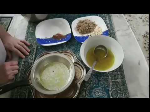 آموزش معروف ترين غذاي اصفهان نصف جهان (بريوني اصفهان) پروانه جوادي خواهرجوادجوادي