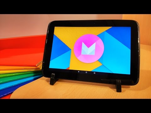 Nexus 10 - Android Marshmallow 6.0 - Review