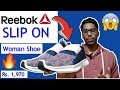 Reebok shoes 👟unboxing SLIP ON shoes for Women 👩for  ₹ 1,970 | Quick Look