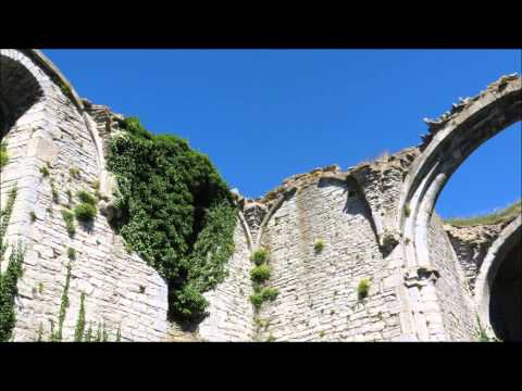 Visby - the town of ruins and roses