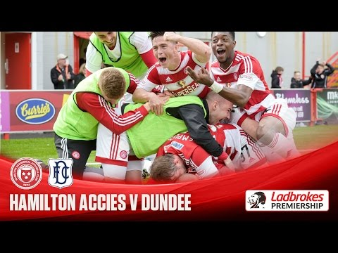 Accies hammer Dee to keep survival hopes alive