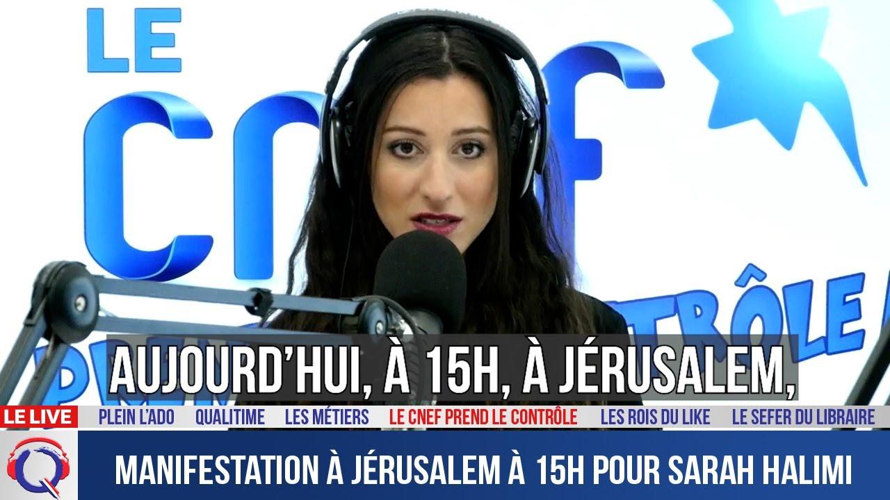 Manifestation à Jérusalem à 15h pour Sarah Halimi - CNEF#48