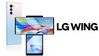 LG Wing – Самый инновационный смартфон 2020 года