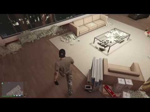 GTA V Online Large warehouse full Sell-off