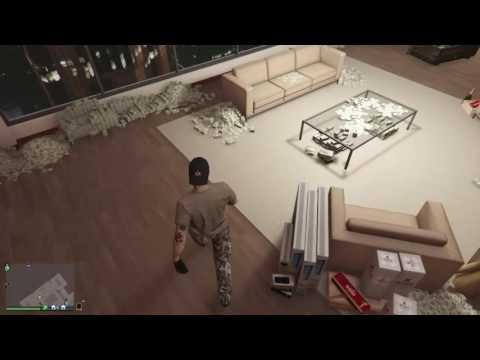 GTA V Online Large warehouse full Sell-off