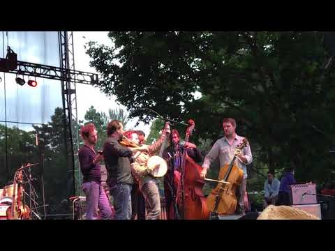 """Gregory Alan Isakov and Blind Pilot, """"All Shades of Blue"""", Seattle, WA 8/13/17"""