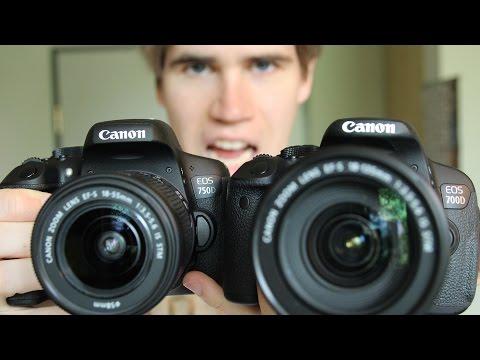 Canon 750D/T6i vs 700D/T5i - 6 Differences