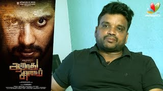 Director Arivazhagan Interview : Aaradhu Sinam is faster than the Original movie