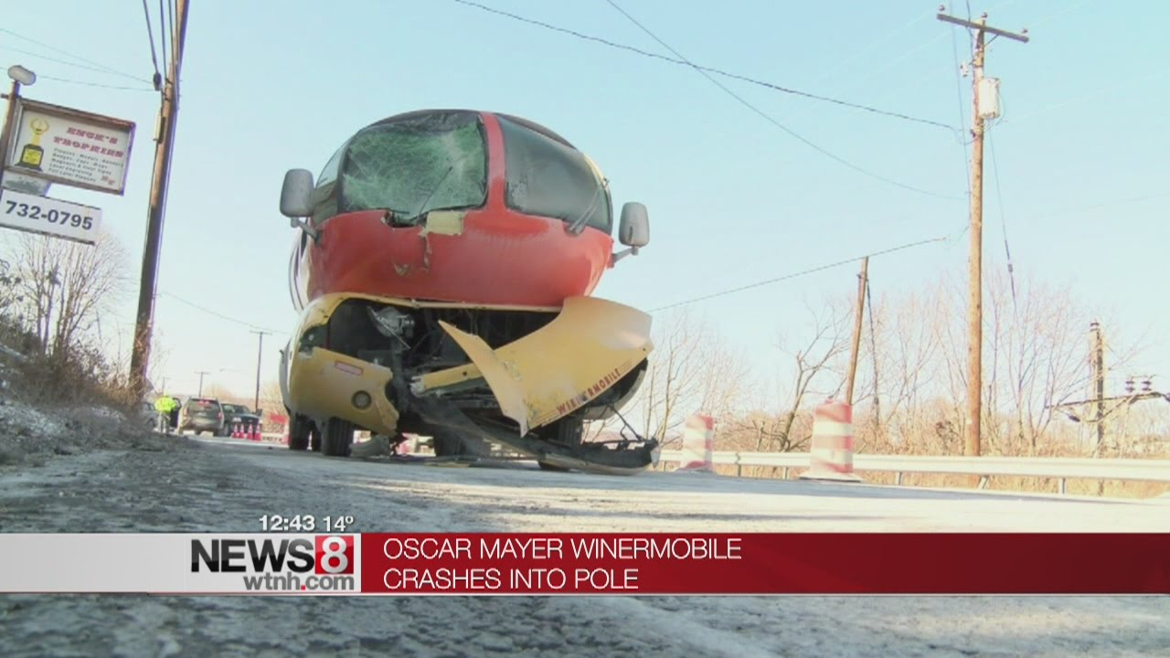 Oscar Mayer Wienermobile Crashes On Snow Covered Pennsylvania Roads together with 23529775 further Oscar Mayer Wienermobile as well wusa9 besides 1306838. on oscar mayer weiner crashed