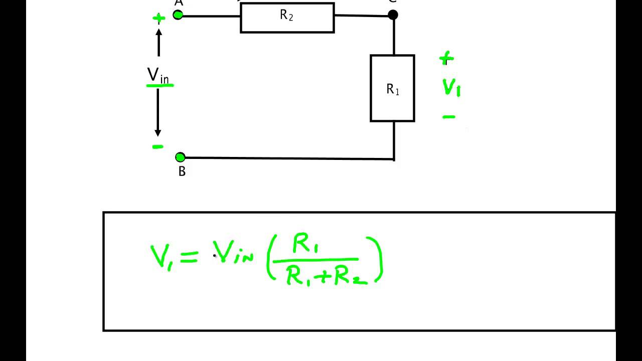 voltage and current divider circuits