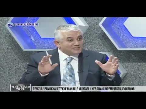 Pamukkale tv Tekke Mahalle Muhtarı İlker ONA
