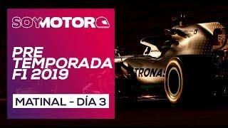 F1 2019 Test Barcelona, día 3 Directo matinal