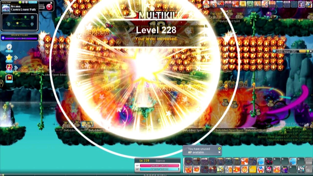 MapleStory, GMS Luna, Battle Mage, way to 10k, 9 Mages done, [메이플스토리 배메]