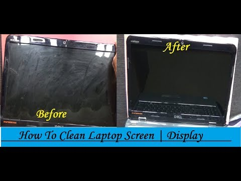 How To Clean Laptop Screen | LCD | LED