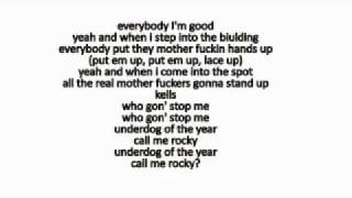 Machine Gun Kelly - Salute w/ LYRICS