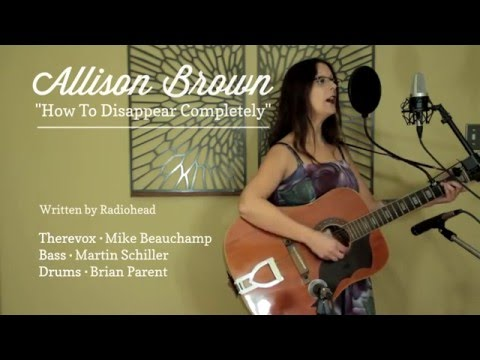 Allison Brown ~ How to Disappear Completely, Radiohead - featuring Therevox ET-4