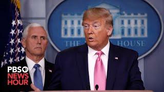 WATCH: White House coronavirus task force briefing -- July 22, 2020
