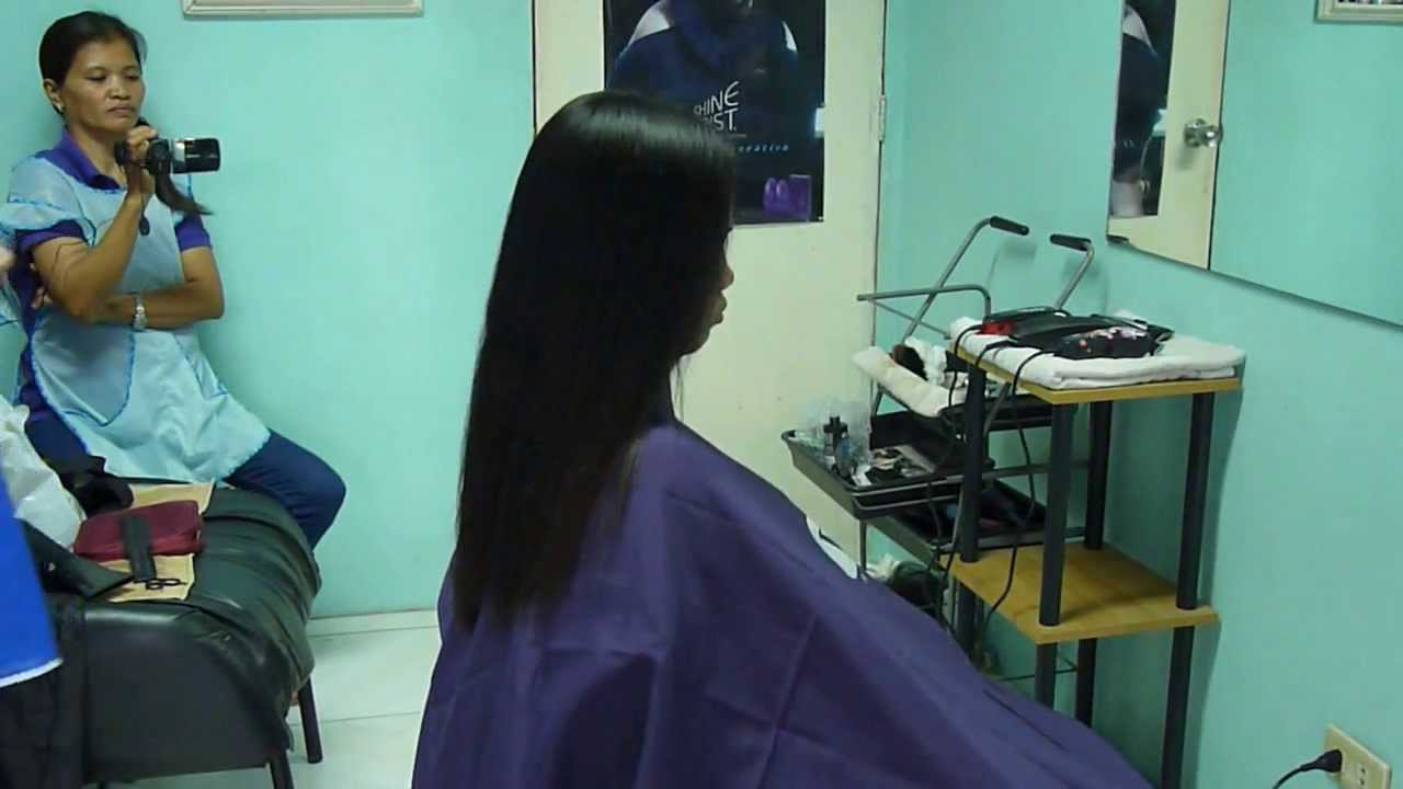 Caping And Cutting Hair Youtube