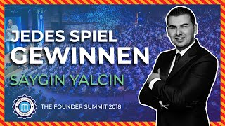 JEDES SP EL GEW NNEN   Saygin Yalcin   Founder Summit 2018  Entrepreneur University