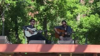 Rockygrass 2016 Flatpick Guitar Champion Eric Wiggs plays Studebaker (Kenny Smith)