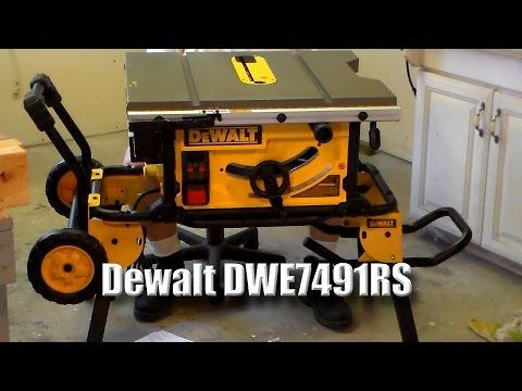 Dewalt Dwe7499gd Jobsite Table Saw Doovi