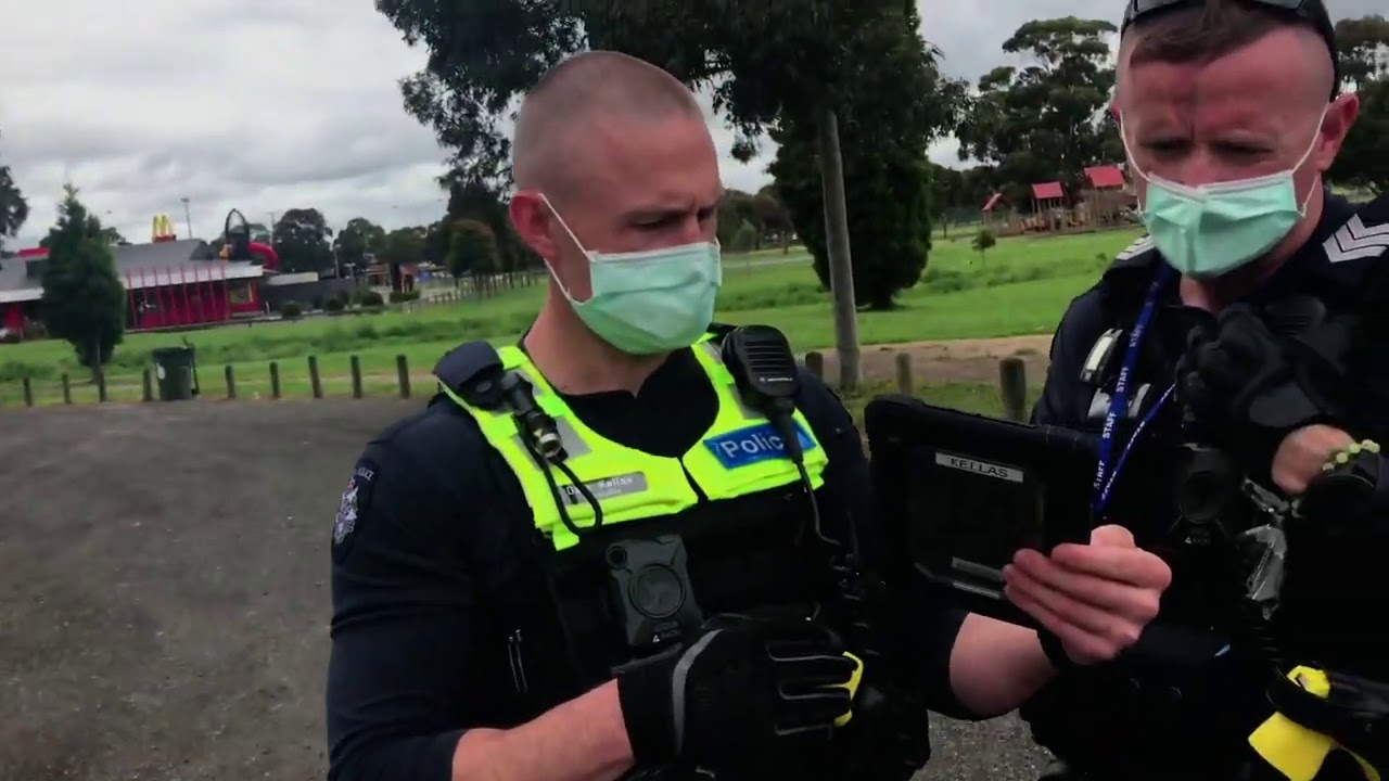 Mask Check-Threatened with Arrest