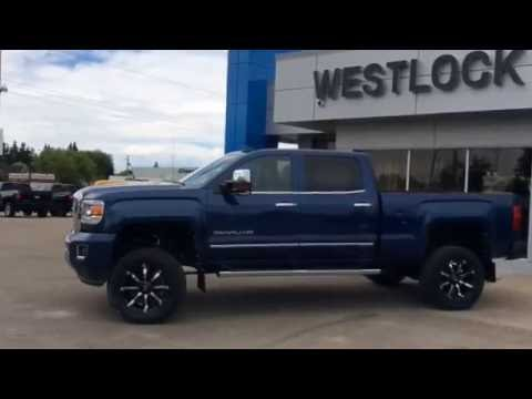 Gmc Denali Dually For Sale >> 2016 Stone Blue Metallic GMC Sierra 2500HD Denali Customized For Sale In Westlock Stock #16T55 ...
