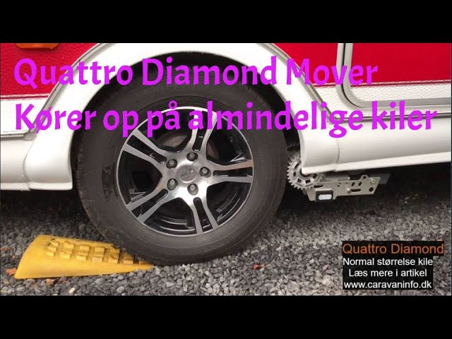 Quattro Diamond Mover - Normal størrelse kile