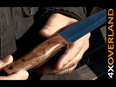 Stunning camp knife by the world's best knife maker