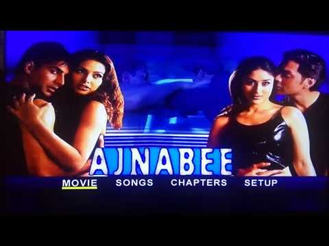 Ajnabee 2001 full movie dvd Menu new original movie