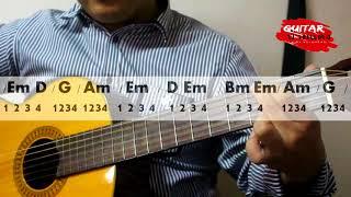 """กีตาร์ป้ายแดง : สอนเล่นเพลง """"กลับคำสาหล่า"""" แบบง่ายๆ"""