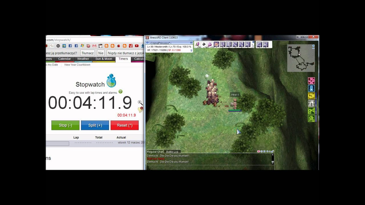 1,5 mil zeny in 15 minutes Geffenia run RO | FunnyCat TV
