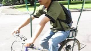 Demo Sepeda Tenaga Surya Jurusan Teknik Fisika FT UGM