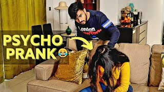 PSYCHO PRANK ON HUSBAND 😱 | പൊളി REACTION 😂 | AMMU & ASWIN