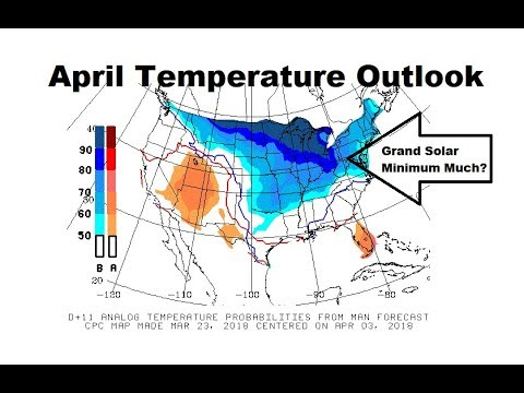 GSM Update 3/24/18 - Cold April Outlook - Iowa Snow Bomb - UK Set To Freeze