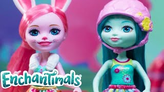 Enchantimals 💜 Bree Bunny the Funny Bunny 💜Short Stories Compilation | Cartoons for kids | Toys