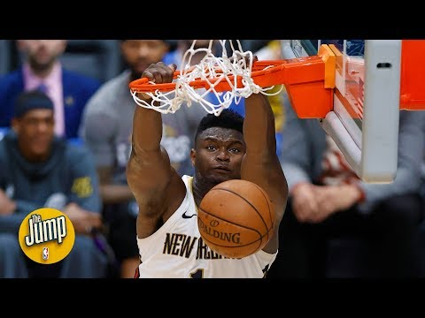 Is Zion Williamson already unguardable? | The Jump