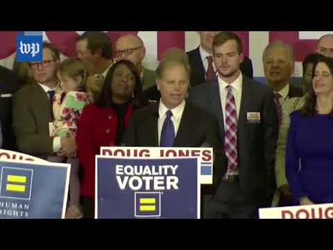 Download Youtube: Doug Jones's victory speech, in three minutes