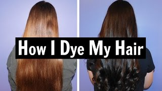 How I Dye My Hair At Home