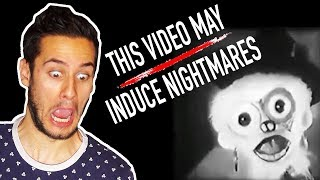 PAUL AND TOM REACT TO ' THIS VIDEO MAY INDUCE NIGHTMARES ' Silver Karnivor