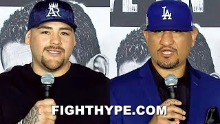 """ANDY RUIZ & CHRIS ARREOLA TRADE """"FINAL REMARKS"""" & """"HEAVY WEIGHT"""" WORDS DAYS BEFORE SHOWDOWN"""