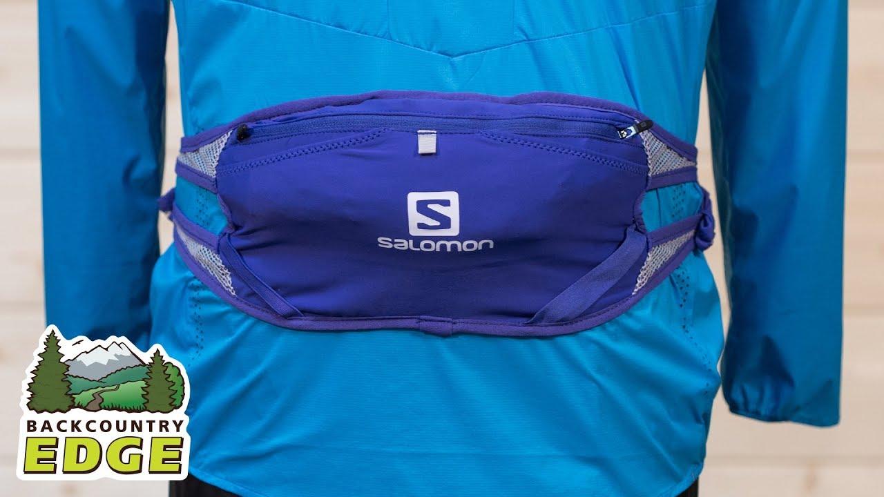48d8a278cff2 Salomon Adv Skin 3 Belt Set - YouTube