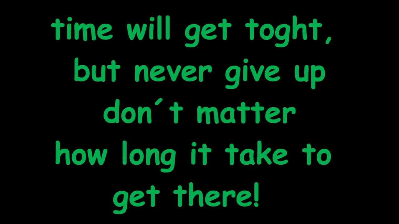 johnny Orlando - Never give up (Lyrics) - YouTube