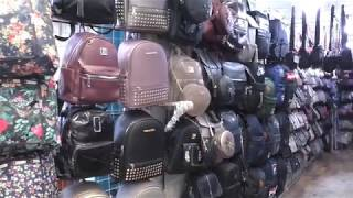Обзор сумок , рюкзаков -бюджетных и красивых,качественных, Бишкек, рынок Дордой май 2019