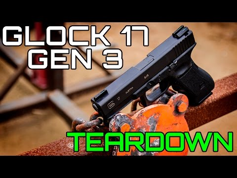 HOW TO: GLOCK 17 GEN 3 COMPLETE DISASSEMBLY