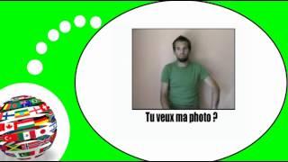 Французского видео урок = Жесты и выражения, № 9
