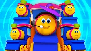 Bob The Train | Cinque piccoli bambini | Five Little Babies | Preschool Songs And Rhymes