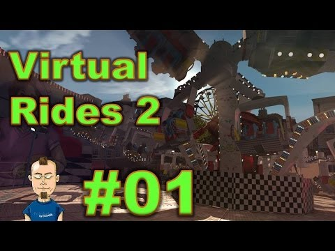 Mini Let's Play Virtual Rides 2 #1 - Kirmesauftakt Im Lift Off