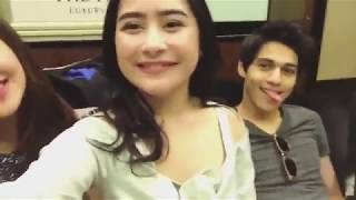 Hangout with all stars cast BMBP  - prilly, maxime, kenny, cut beby, dll   😋