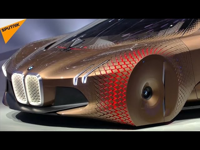 Vision Next 100 Bmw Unveils Shape Shifting Self Driving
